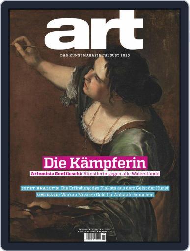 art Magazin Magazine (Digital) August 1st, 2020 Issue Cover