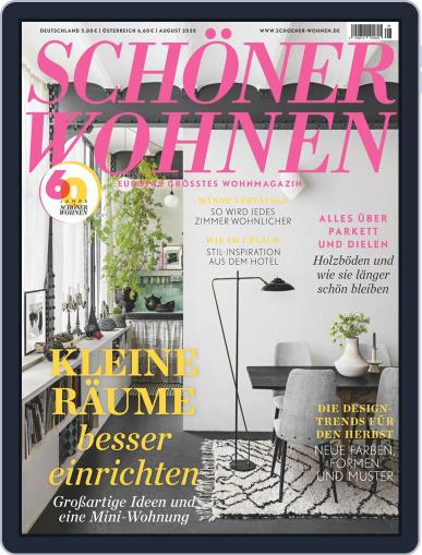 Schöner Wohnen Magazine (Digital) August 1st, 2020 Issue Cover