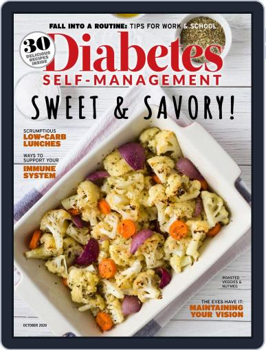 Diabetes Self-Management Magazine (Digital) September 1st, 2020 Issue Cover