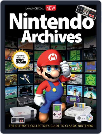 Nintendo Archives Magazine (Digital) December 1st, 2016 Issue Cover