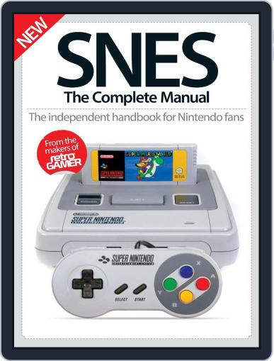 SNES The Complete Manual Magazine (Digital) December 8th, 2016 Issue Cover