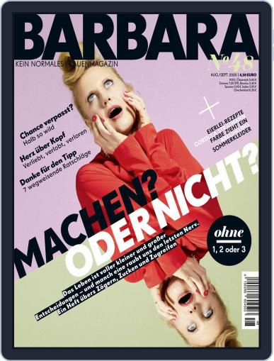 Barbara Magazine (Digital) August 1st, 2020 Issue Cover