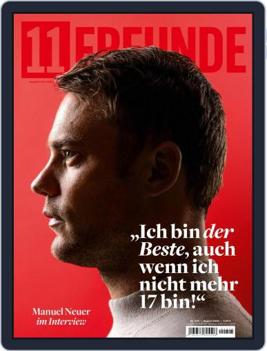 11 Freunde Magazine (Digital) August 1st, 2020 Issue Cover
