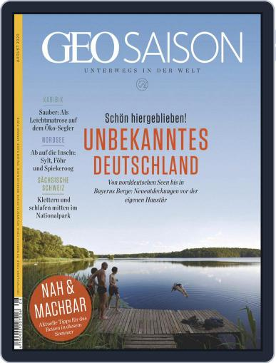 GEO Saison Magazine (Digital) August 1st, 2020 Issue Cover