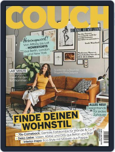 Couch Magazine (Digital) September 1st, 2020 Issue Cover