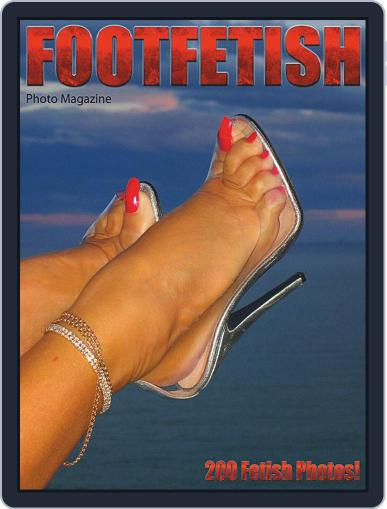 Foot Fetish Adult Photo Magazine (Digital) July 13th, 2020 Issue Cover