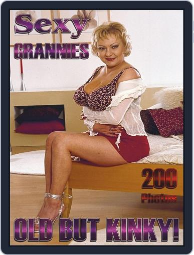 Sexy Grannies Adult Photo Magazine (Digital) July 25th, 2020 Issue Cover