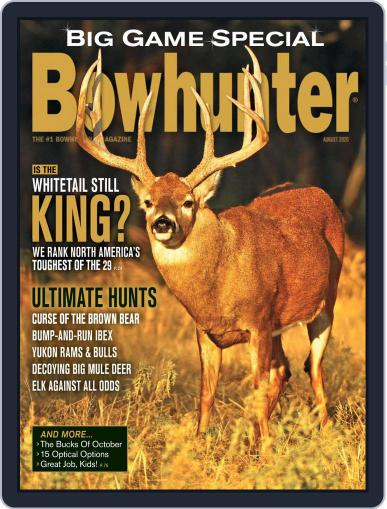 Bowhunter Magazine (Digital) August 1st, 2020 Issue Cover