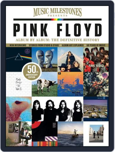 Music Milestones: Pink Floyd 50th Anniversary Special Magazine (Digital) March 1st, 2017 Issue Cover