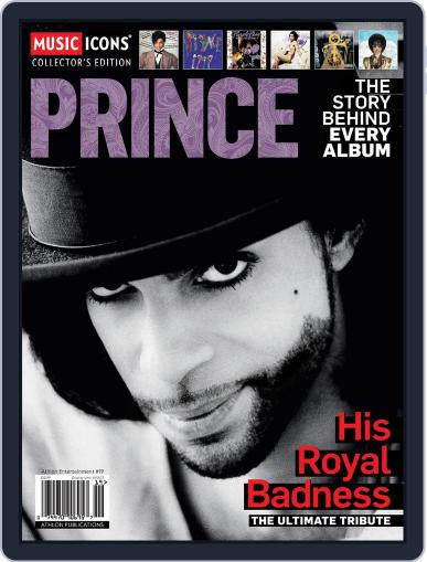Music Icons: Prince Magazine (Digital) March 1st, 2017 Issue Cover