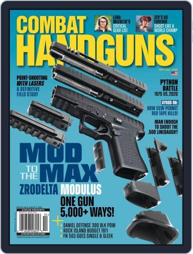 Combat Handguns Magazine (Digital) September 1st, 2020 Issue Cover