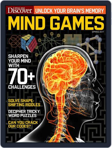 Mind Games Magazine (Digital) March 1st, 2017 Issue Cover