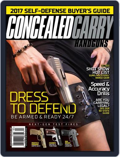 Concealed Carry Handguns Magazine (Digital) March 1st, 2017 Issue Cover