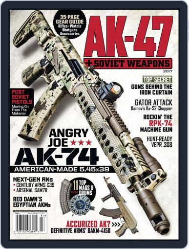 AK47 & Soviet Weapons Magazine (Digital) March 1st, 2017 Issue Cover