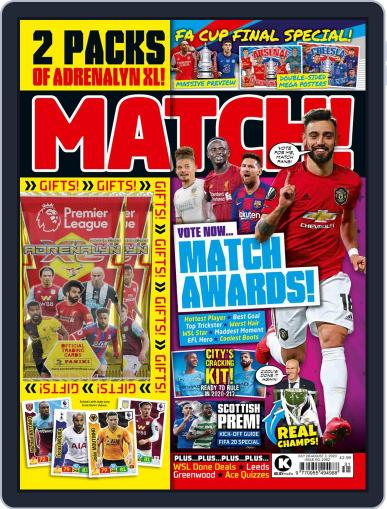 MATCH! Magazine (Digital) July 28th, 2020 Issue Cover