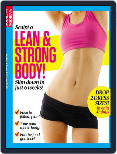 Women's Fitness Sculpt A Lean and Strong Body Magazine (Digital) April 1st, 2017 Issue Cover