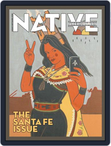 Native American Art (Digital) August 1st, 2020 Issue Cover