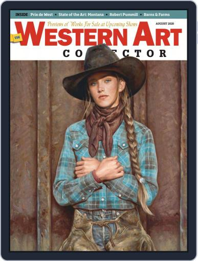 Western Art Collector (Digital) August 1st, 2020 Issue Cover