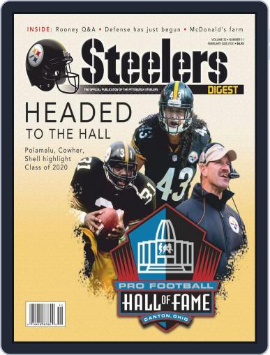 Steelers Digest Magazine (Digital) Cover