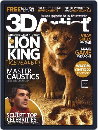 3D Artist (Digital) Cover
