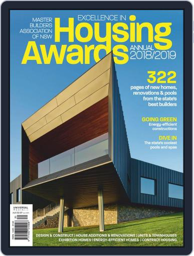Mba Housing Awards Annual Magazine (Digital) Cover