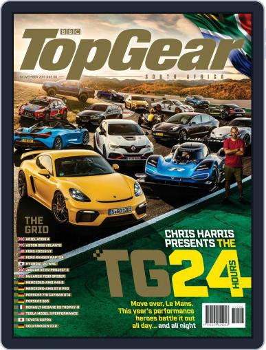 Top Gear South Africa Magazine (Digital) Cover