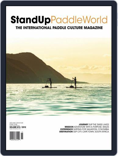 Stand Up Paddle World Magazine (Digital) Cover