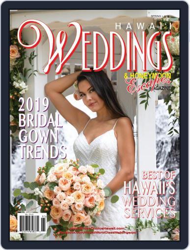 Hawaii Weddings & Honeymoon Escapes (Digital) Cover