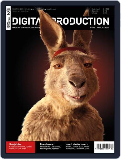 Digital Production Magazine Cover