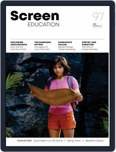 Screen Education Magazine (Digital) Cover