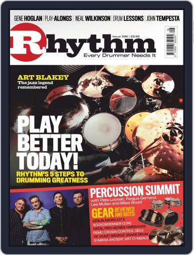 Rhythm Magazine (Digital) Cover
