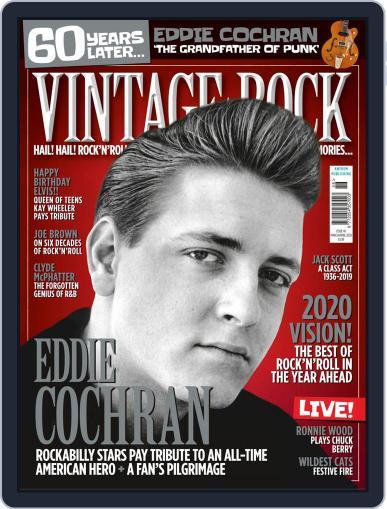 Vintage Rock Magazine (Digital) Cover