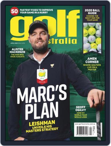 Golf Australia Magazine (Digital) Cover