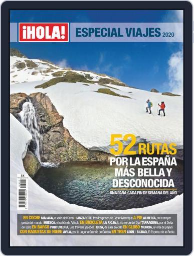 ¡hola! Especial Viajes (Digital) Cover