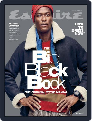 Esquire's Big Black Book Magazine (Digital) Cover
