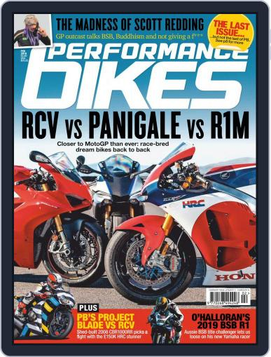 Performance Bikes Magazine (Digital) Cover
