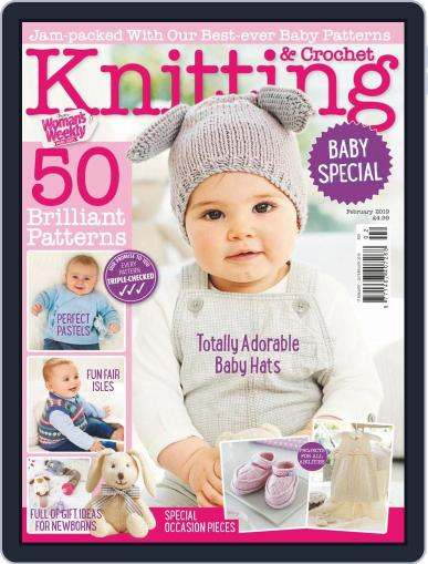 Knitting & Crochet from Woman's Weekly Magazine (Digital) Cover