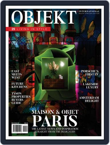 OBJEKT South Africa Magazine (Digital) Cover