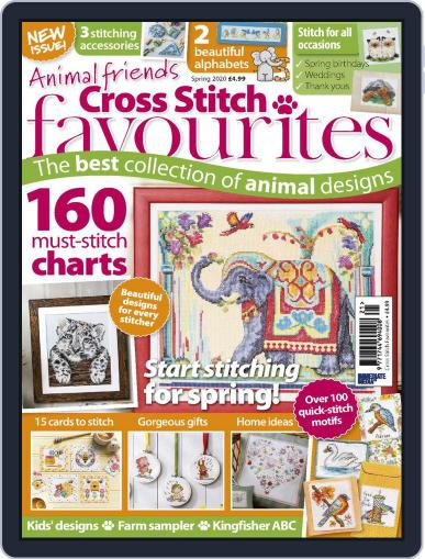 Cross Stitch Favourites Magazine (Digital) Cover