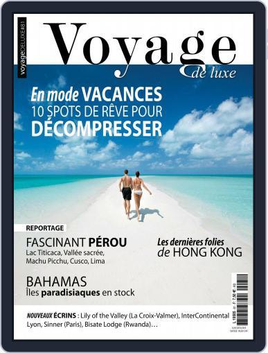 Voyage de Luxe Magazine (Digital) Cover