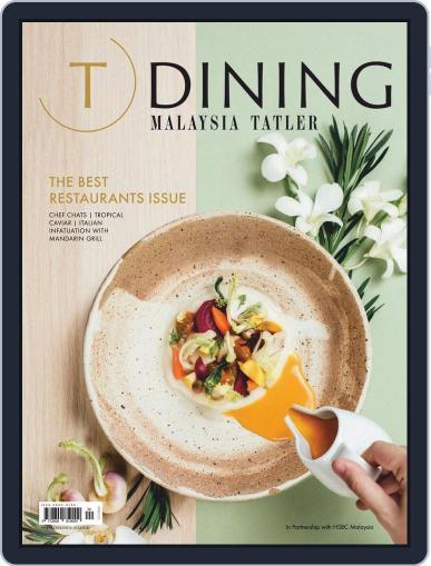 Malaysia Tatler Best Restaurants Magazine (Digital) Cover