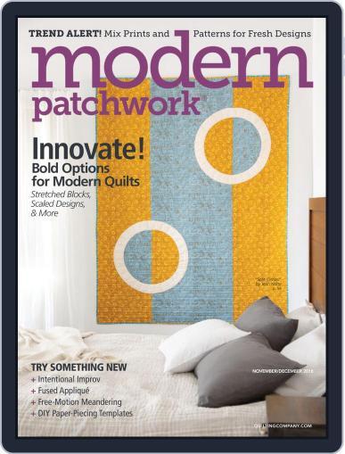 Modern Patchwork Magazine (Digital) Cover