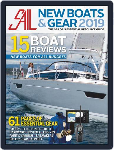 Sail - New Boat & Gear Review Magazine (Digital) Cover