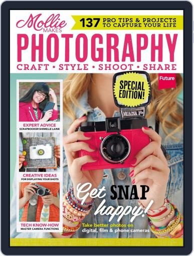 Mollie Makes Photography Magazine (Digital) Cover
