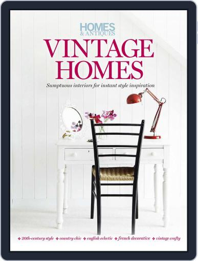 Homes & Antiques magazine presents Vintage Homes Magazine (Digital) Cover