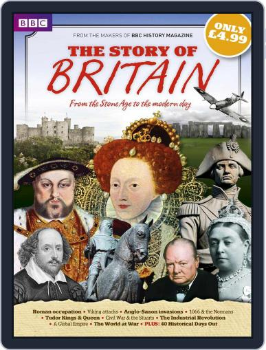 BBC History Magazine presents The Story of Britain Magazine (Digital) Cover