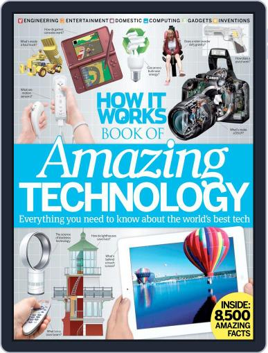 How It Works Book of Amazing Technology Magazine (Digital) Cover