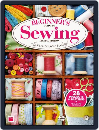 Beginner's Guide to Sewing Magazine (Digital) Cover