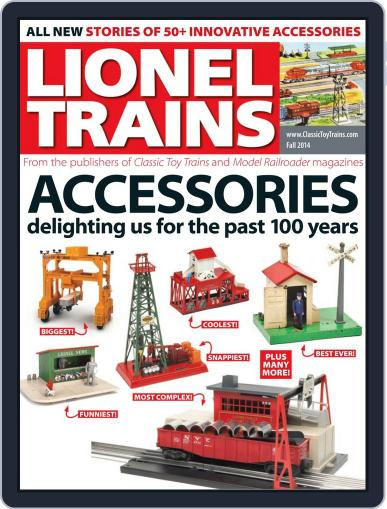 Lionel Trains: Accessories Magazine (Digital) August 8th, 2014 Issue Cover