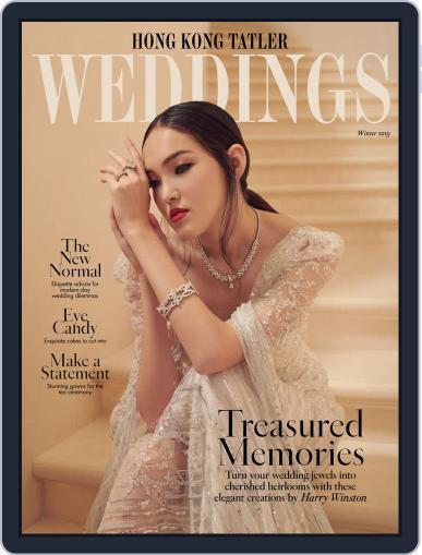 Hong Kong Tatler Weddings Magazine (Digital) Cover